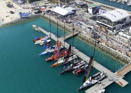 Venesatama Abu Dhabi, Volvo Ocean Race stopover, UAE. (Photo Credit: PAUL TODD)