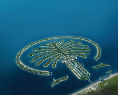 Dubai UAE palm jumeirah anchor marinas